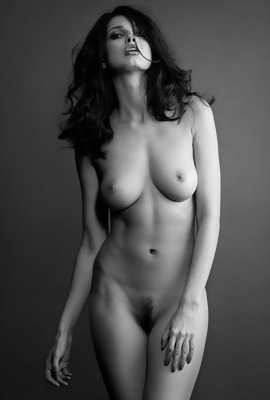 Naked Black and White Photography