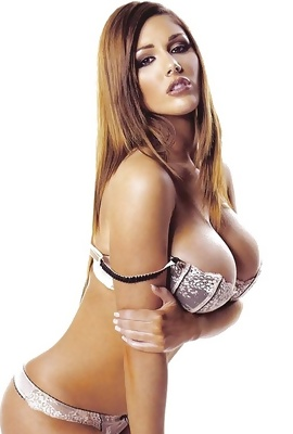 Topless British Star Lucy Pinder